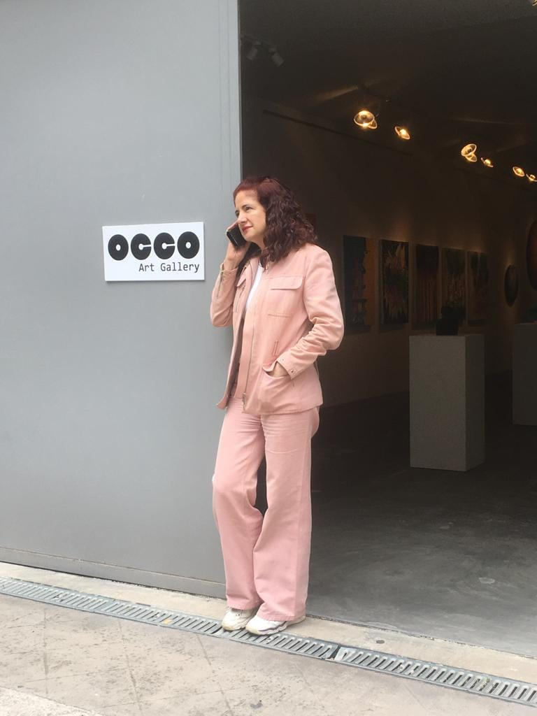 Entrada OCCO Art Gallery