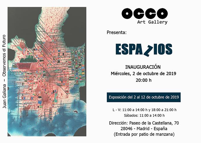 Exposición ESPAZIOS