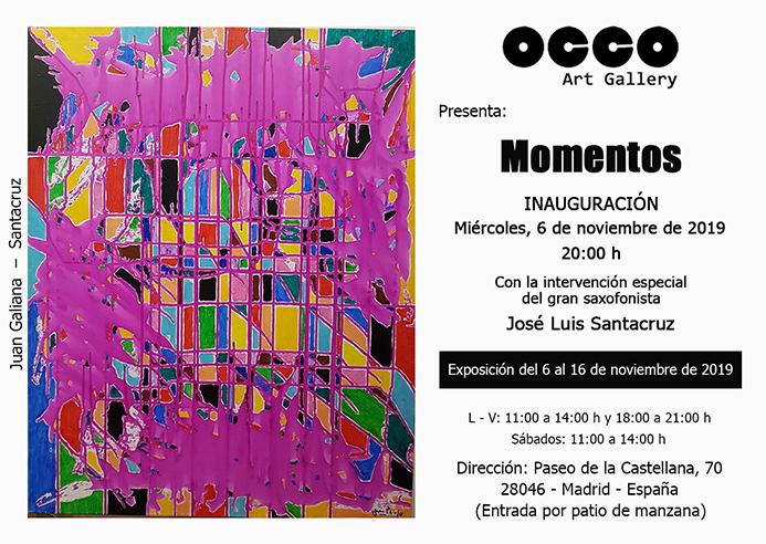 Exposición MOMENTOS
