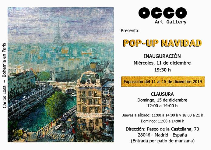 Exposición POP-UP NAVIDAD