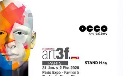 OCCO Art Gallery en la FERIA art3f PARIS