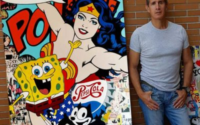 Javier Melus, Pop Art con alma de graffiti