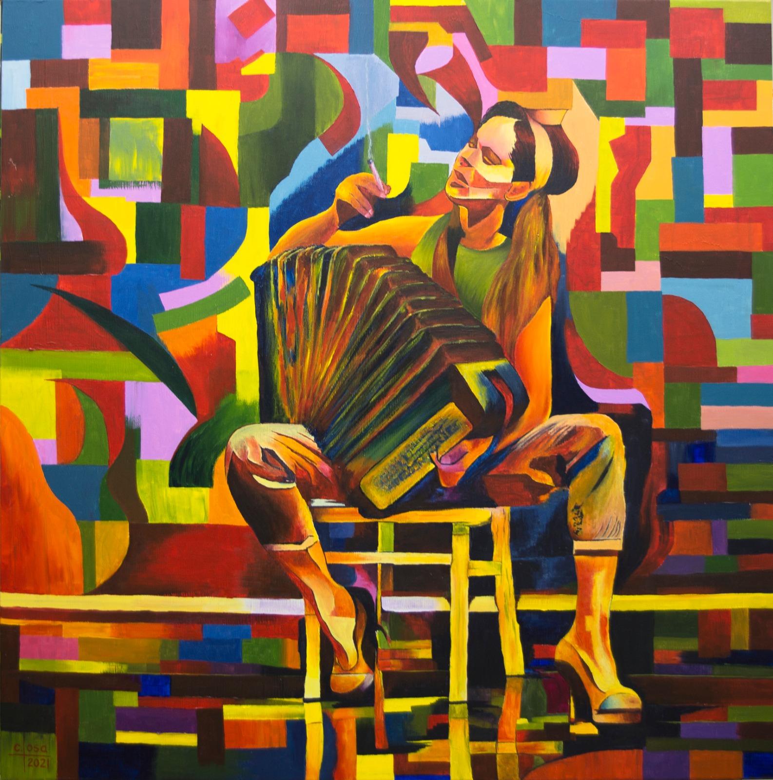 Carlos Losa. Exposición DESAFÍO en OCCO Art Gallery