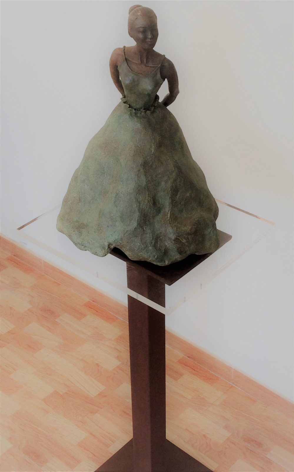 Lola Santos. Exposición DESAFÍO en OCCO Art Gallery
