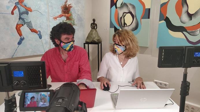 Al ritmo de Madrid – Programa 20 – Madrid Cosmopolita – Entrevistas a John Parsons y Marcela Ferrari
