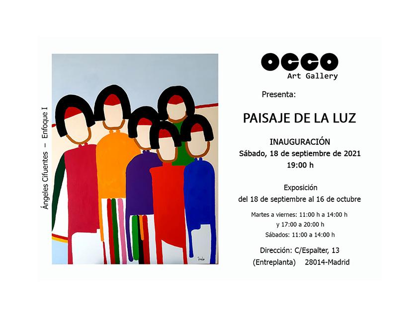 Exposición PAISAJE DE LA LUZ