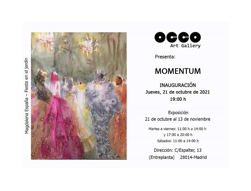 Exposición MOMENTUM
